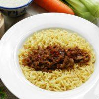 サテビーフ麺1